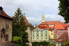 Meersburg - old town, germany Royalty Free Stock Photos