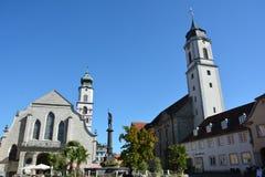 Meersburg Tyskland Arkivbilder