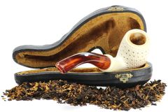 Meerschaum pipe Royalty Free Stock Photography