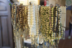 Meerschaum rosary. Meerschaum ornamental articles. Almost all of meerschaum is removed from Eskişehir / Turkey Stock Photography