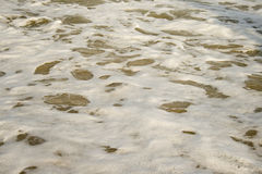 meerschaum. Meerschaum and sea water as a pattern Stock Photography