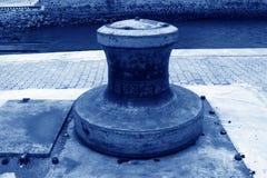 Meertrospijler in een hoek Royalty-vrije Stock Fotografie