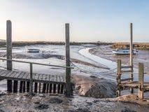 Meertrossen in Morston Norfolk Stock Fotografie