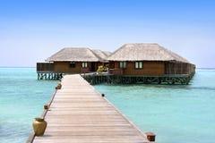 Meeru Rücksortierung, Maldives, Nordatoll Stockbild