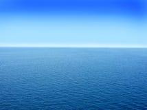 Meerwasserhintergrund Lizenzfreies Stockfoto