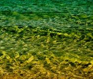 Meerwasserzusammenfassung Lizenzfreie Stockfotografie