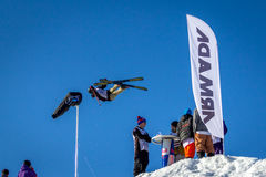Mees Samochód dostawczy Lierop, Holenderska narciarka Obraz Stock