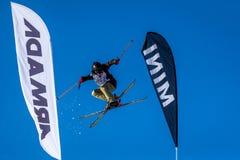 Mees Samochód dostawczy Lierop, Holenderska narciarka Zdjęcia Stock