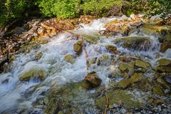 Meeslepend water Royalty-vrije Stock Fotografie