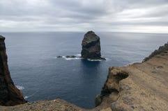 Meest oostelijke deel van het eiland Madera, Ponta DE Sao Lourenco, Canical-stad, schiereiland, droog klimaat royalty-vrije stock afbeelding