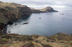 Meest oostelijke deel van het eiland Madera, Ponta DE Sao Lourenco, Canical-stad, schiereiland, droog klimaat royalty-vrije stock fotografie