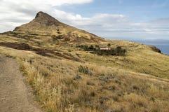 Meest oostelijke deel van het eiland Madera, Ponta DE Sao Lourenco, Canical-stad, schiereiland, droog klimaat stock fotografie