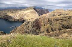 Meest oostelijke deel van het eiland Madera, Ponta DE Sao Lourenco, Canical-stad, schiereiland, droog klimaat royalty-vrije stock foto
