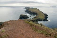 Meest oostelijke deel van het eiland Madera, Ponta DE Sao Lourenco, Canical-stad, schiereiland, droog klimaat stock foto