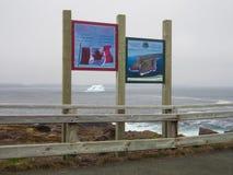 Meest oostelijke punt in Canada royalty-vrije stock fotografie