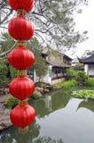 Meester van de Nettentuin in Suzhou, China Stock Foto