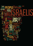 Meet The Israelis Text Background  Word Cloud Concept. MEET THE ISRAELIS Text Background Word Cloud Concept Royalty Free Stock Photos