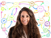 Meet people on social networks Royalty Free Stock Photography