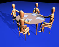 Meeting. Business meeting Stock Image