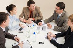 Meeting Stock Photography