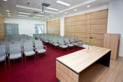 Meeting area Royalty Free Stock Image