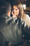 Meeting at the bar Royalty Free Stock Photo