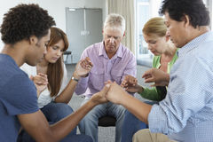 Meeting Of Bible Study Group royalty free stock images