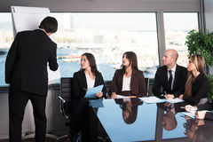Meeting in boardroom office Stock Photography