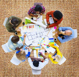Meeting Brainstorming Discussion Collaboration Concept Royalty Free Stock Image