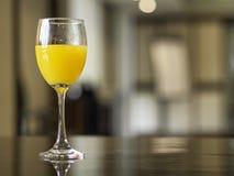 Meeting break with fresh orange juice Stock Photos