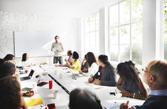 Meeting Business Corporate Business Connection Concept.  Royalty Free Stock Image