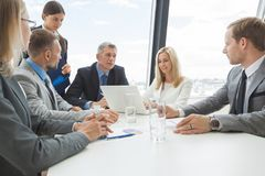 Meeting of business partners Royalty Free Stock Photography