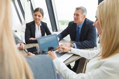 Meeting of business partners Royalty Free Stock Photos
