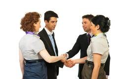 Meeting business people Stock Photos