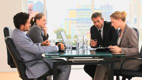Meeting between business people Royalty Free Stock Images