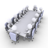 Meeting of businessmen Stock Images