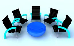 Meeting Chairs Stock Images