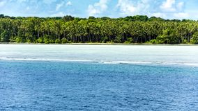 Rainforest, Reef and Pacific , Solomon Islands Stock Photo