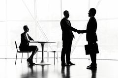 Meeting of companions Stock Photography