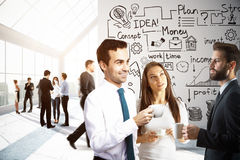 Meeting concept Royalty Free Stock Images