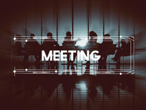 Meeting Conference Assembly Brainstorm Discussion Concept Royalty Free Stock Images
