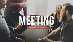 Meeting Conference Brainstorming Discussion Summit Concept Royalty Free Stock Images