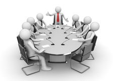 Meeting in conference room Royalty Free Stock Photo