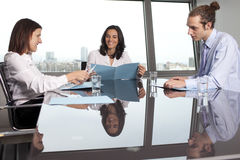 Meeting in conference room Royalty Free Stock Images