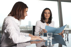 Meeting in conference room Stock Images