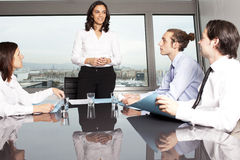 Meeting in conference room Royalty Free Stock Photography