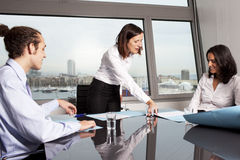 Meeting in conference room Stock Photos