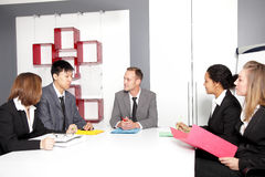 Meeting in conference room Stock Photo