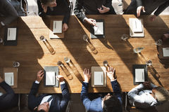 Meeting Corporate Success Brainstorming Teamwork Concept Royalty Free Stock Photography