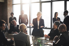 Meeting Corporate Success Brainstorming Teamwork Concept Royalty Free Stock Photo